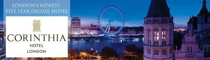 Corinthia London�s Newest Five Star Deluxe Hotel